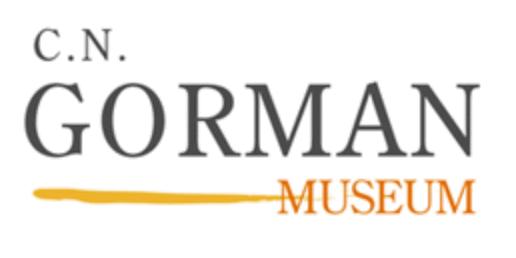 The logo of the C.N. Gorman Museum at UC Davis